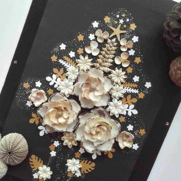 قاب صدفی ، تابلو صدفی ، قاب با صدف ، صدف دریایی ، صدف چیست ، گل صدفی ، صدف و نقاشی ، صدف تزیینی ، تابلو دکوراتیو ، تابلو تزیینی ، قاب تزیینی ، قاب دیواری
