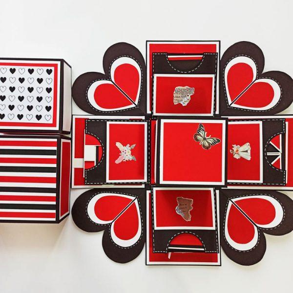 جعبه-سوپرایز-قرمز-مشکی-سفید2