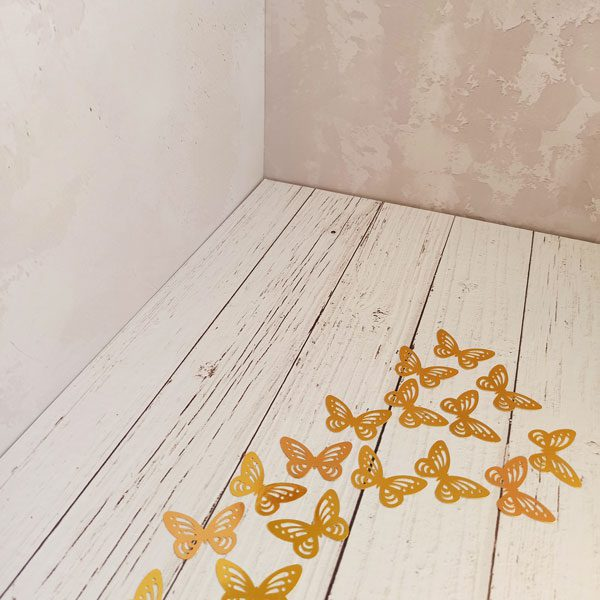 پروانه طلایی ، پروانه تزیینی ، پروانه آینه ای
